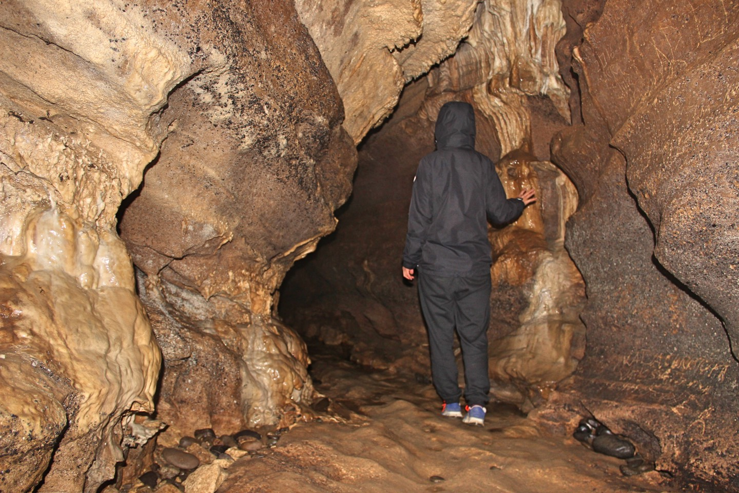 Weltreise_Backpacking_Neuseeland_Clifden_Cave