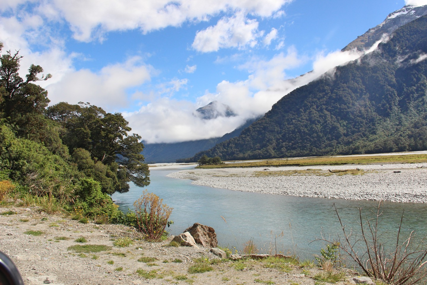 Weltreise_Backpacking_Neuseeland_Haast_Pass