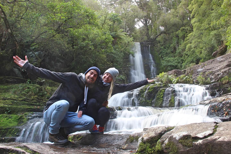 Weltreise_Backpacking_Neuseeland_McLeanfalls